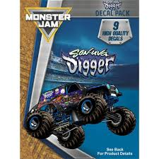 100 Monster Truck Decals Jam SonUva Digger S Decal Pack Products Pinterest