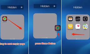 Hidden Apps on iPhone 5 Step How to Hiding App from the Home
