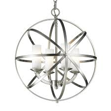 Z Lite Aranya 18 31 In 4 Light Brushed Nickel Cage Chandelier