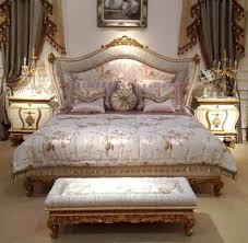 schlafzimmer barock klassisch villa d este gold italienisch