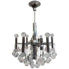 sciolari glass chandelier at 1stdibs