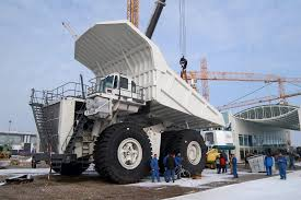 Liebherr T282B / The Largest Dump Truck In The World / Germany ...