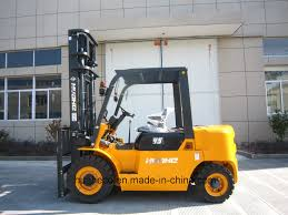 100 Manual Transmission Truck China 45Ton Diesel Forklift With 45Meter Duplex MastHH45N8
