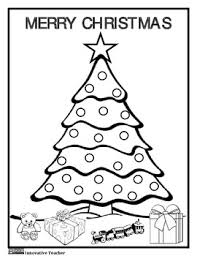 Help Your Students Celebrate Christmas With This Easy To Use Coloring Page