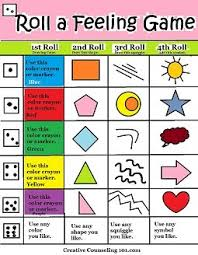 With Free Art Therapy Game Board Printable