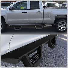 DNA Motoring: For 2015-2018 Ford F150/F250/F350 Super Duty Extended ... Hummer H3 Pick Up Truck Sidebar 3inch Stainless Nerf Bars Tube Octa Series Bar 1418 Chevy Lvadosierra 1500 Gas Step And Streamline 4506c Go Rhino 4000 Chrome Barsstep Chevrolet Forum Enthusiasts Forums Dee Zee Silverado With Def Tank Without Truck Joliet Morris Illinois By Nfab Customize Your Lund Set Of 2 Polished Hdx Drop Bps Westin 56132952 Titan Game Chaing Nissan Frontier