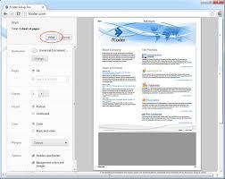 Chrome Print Preview Wnd