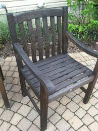Latest Aged Teak Outdoor Furniture Deck What Is The Best Way To Restore