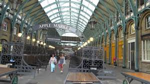 Walk around Covent Garden Market in London 2
