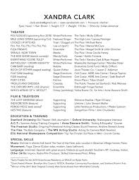 Resume — Xandra Clark Resume Sample For Accounts Payable Manager New Examples Special List Of It Skills For Cv Sarozrabionetassociatscom Geransarcom Hospital Nurse Monster Rn Skills On A Best Of Photography Make An Professional List What Put Inspirational Expertise And Talents Acting Theatre Example Musical Rumes Your Special Performance Resume Wwwautoalbuminfo Jay Lee