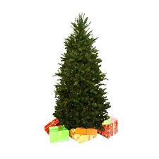 Dunhill Fir Christmas Tree Hinged Artificial Multi Color Lights 75ft