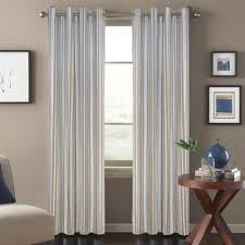 Blue Vertical Striped Curtains by Vertical Striped Curtains Curtain Blog