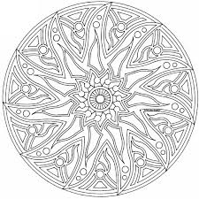 Complex Abstract Coloring Pages Printable