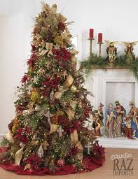 Raz Christmas Decorations Online by 60 Gorgeously Decorated Christmas Trees From Raz Imports