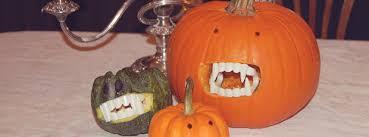 Good Pumpkin Carving Ideas Easy by Diy Halloween Decor Ideas No Carve Vampire Pumpkin Craft