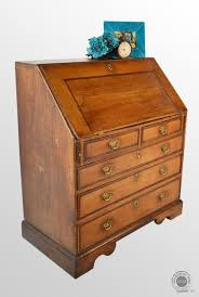 oak writing bureau uk antique georgian bureau large oak fall front writing desk