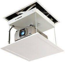 Install Projector Mount Drop Ceiling by Diy A Quick And Dirty 20 Projector Ceiling Middle Couples And
