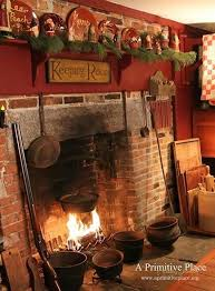 Primitive Decorating Ideas For Fireplace by Best 25 Primitive Fireplace Ideas On Pinterest Rustic Fireplace