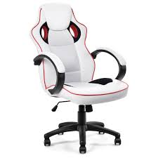Costway: Costway Executive High Back Sport Racing Style Gaming ... Invicta Office Chair Xenon White Shell Leather Lumisource Highback Executive With Removable Arm Covers Sit For Life Tags Star Ergonomic Family Room Amazoncom Btsky Stretch Cushion Desk Chairs Seating Ikea Costway Pu High Back Race Car Style Merax Ergonomic Office Chair Executive High Back Gaming Pu Steelcase Leap Reviews Wayfair Shop Ryman Management Grand By Relax The Ryt Siamese Cover Swivel Computer Armchair