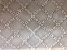 Glazzio Tiles Versailles Series by Dove Gray Arabesque Tile From Kensington Kitchen And Bath Inc