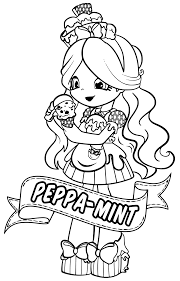 12 Shopkins Dolls Colouring Page Shoppies Bubbleisha From Chef