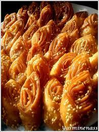 cuisine marocaine en langue arabe gâteaux langue d oiseau lissan attir a l orée des douceurs