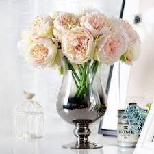 50Pcs Artificial Flowers Silk Carnation Heads Bulk Wedding Party