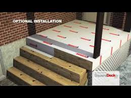 deck tiles to cover concrete ciment and wood surfaces