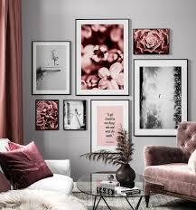bilderwand gestalten und wohnräume kreativ aufpeppen