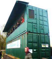 100 Shipping Containers Converted Viewing Deck Container Conversion Cotswold Model Car Club