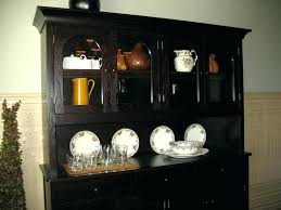 Dining Room Hutches And Buffets Black Hutch Buffet
