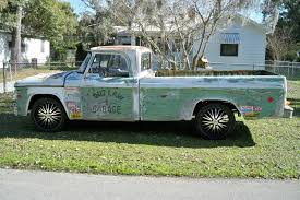 100 1968 Dodge Truck D100 Classic Rat Rod Garage Ages Before The