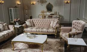 casa padrino luxus barock wohnzimmer set rosa weiß gold 2 sofas 2 sessel 1 couchtisch 2 beistelltische wohnzimmer möbel im barockstil