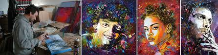100 C215 Art Street Art Christian Gumy Urban Art Gallery Saint Martin