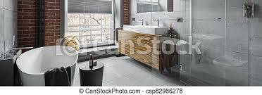 industrie stil badezimmer industrie badewanne