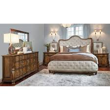 Vaughan Bassett Dresser Drawer Removal by Elmhurst 5 Piece King Bedroom Collection