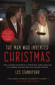 The Cover Of Book Man Who Invented Christmas