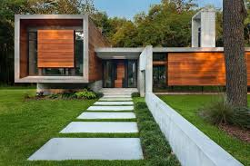100 Brays Island SCModernII04 Wood Glass House Design
