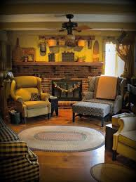 Primitive Living Room Colors by 449 Best Primitive And Colonial Living Rooms Images On Pinterest