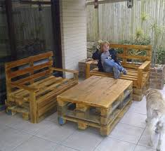 pallet outdoor bar that s why older pallets are the best