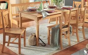 essgruppe esszimmer küche tischgruppe esstisch stühle bank fichte massiv lanatura