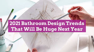 Bathroom Trends 2021 We Our Home Inspired By 2021 Bathroom Design Trends That Will Be Next Year