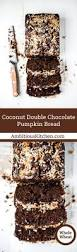 Nordic Ware Pumpkin Loaf Pan Recipe by Coconut Double Chocolate Pumpkin Bread Ambitious Kitchen