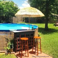 Pool Deck Ideas Best Above Ground Decks On Swimming Regarding Small