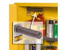 Flammable Liquid Storage Cabinet Canada by Flammable Cabinets Justrite Flammable Storage Meet Osha