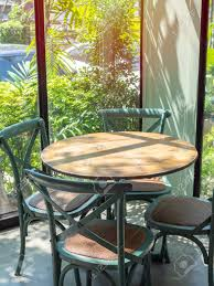 Vintage Wooden Table And Four Green Chairs In The Corner Of ... Korean Style Ding Table Wood Restaurant Tables And Chairs Buy Small Definition Big Lots Ashley Yelp Sets Glamorous Chef 30rd Aged Black Metal Set Ch51090th418cafebqgg 61 Tolix Rectangular Onyx Matt Chair Fniture Side View Stock Vector The Warner Bar In 2019 Fniture Interior Indoors In Vintage Editorial Photography Image Town Quick Restaurant Table Chairs Bar Cafe Snack Window Blurred Bokeh Photo Edit Now
