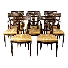 Mid Century European Mahogany Wood Dining Chairs - Set Of 8 Ding Room Chairs Stanley Fniture Spade Arm Chair Brown Ej Victor Imperia 920127 Von Hemert Sets Barker Stonehouse European Bellagio Luxury Set Of 2 Bow515 Upholstered Art Rattan Sofa Rattan Outdoor Europeanstyle High Back Solid Wood Classic Armchairdingrestaurant Chairch824 Buy Armchairwooden Restaurant Chairshigh Parisian Bronze Comfort Night