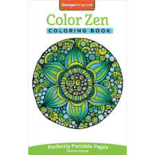 Design Originals Color Zen Coloring Book Products Coloriage Art