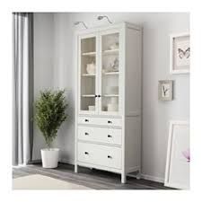 Hemnes Dresser 3 Drawer White by Hemnes Glass Door Cabinet With 3 Drawers White Stain Ikea