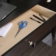 Sauder Shoal Creek Executive Desk Assembly Instructions by Amazon Com Sauder Shoal Creek Desk Jamocha Wood Kitchen U0026 Dining